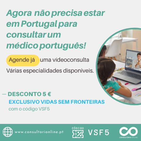 Desconto 5€ www.consultorionline.pt - código VSF5